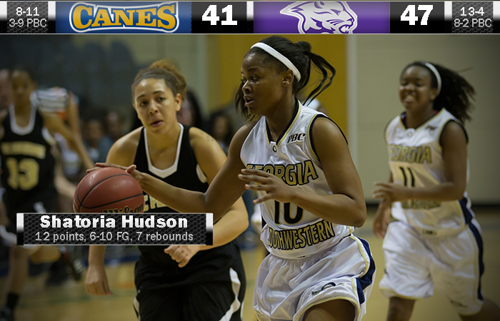 Lady 'Canes Unable To Fight Off Mountain Lions