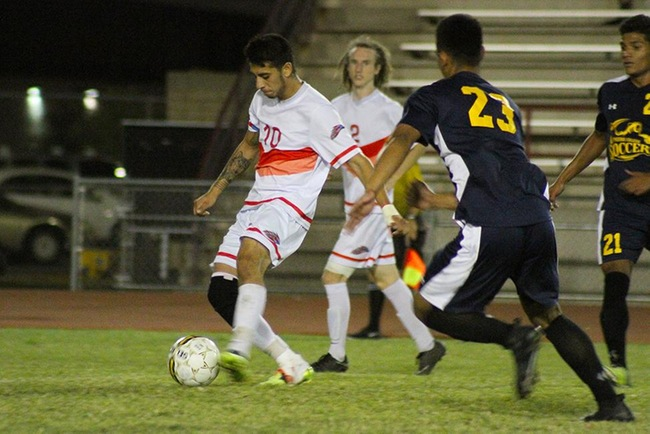 Men's Soccer Fall to Phoenix College, 3-1