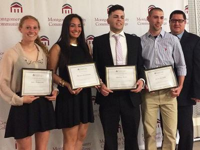Student-Athletes Honored At Awards Reception