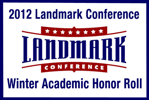 Landmark Conference Issues Winter Academic Honor Roll