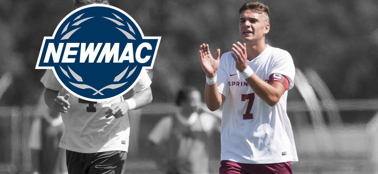 Alvaro Earns Second-Straight NEWMAC Men's Soccer Offensive Player of the Week Honor