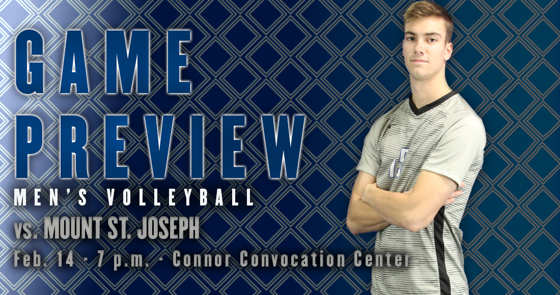Men's Volleyball Hosts MSJ in Home Opener Tonight at 7PM