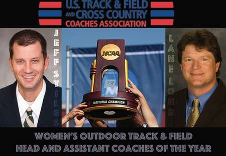 USTFCCCA Selects Jeff Stiles and Lane Lohr of Washington University as Coaches of the Year