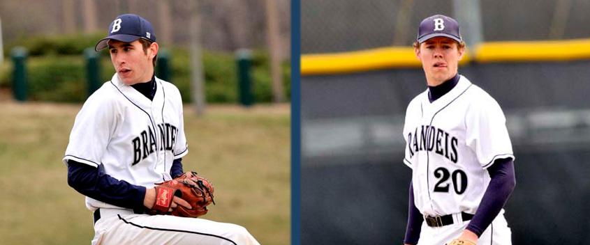 Mike Swerdloff '13 and Pat Nicholson '11 (Photo by Sportspix)