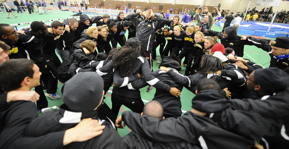 UMBC Men's and Women's Track and Field Teams Both Ranked No. 13 in Latest USTFCCCA Regional Poll