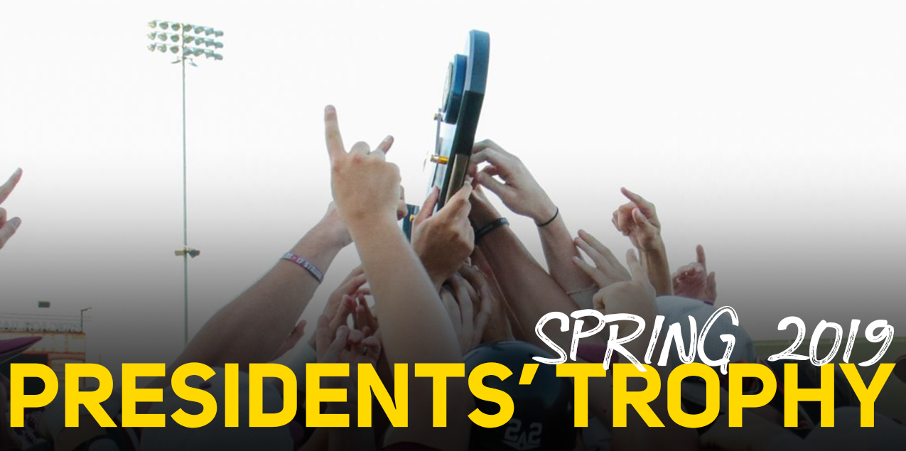 Trinity Earns Record Eighth Straight SCAC Presidents' Trophy