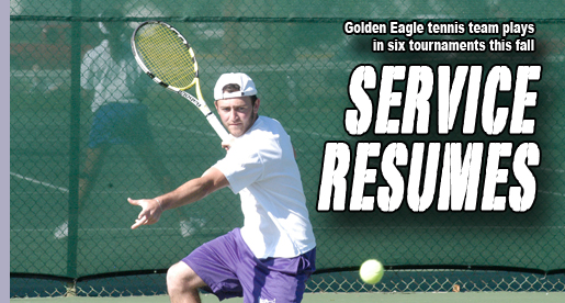 Golden Eagle tennis team ready to get back to action with tourney play