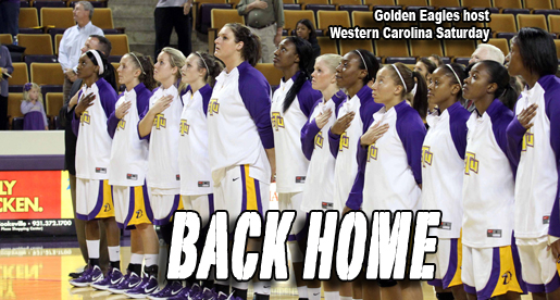 Golden Eagles welcome in Western Carolina Saturday