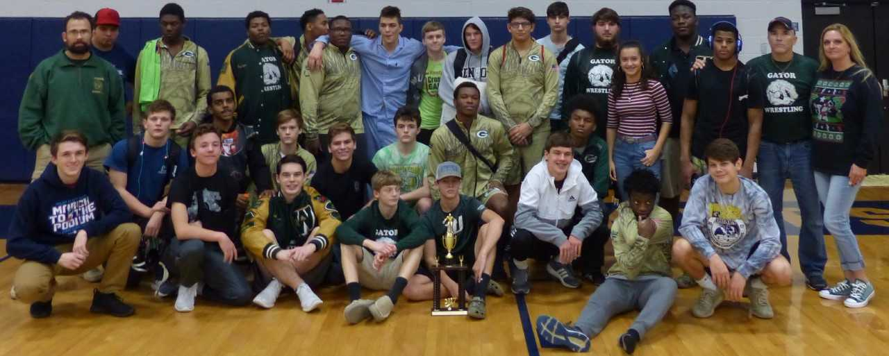 Gators Wrestlers finish 3rd in Yellow Jacket Duals