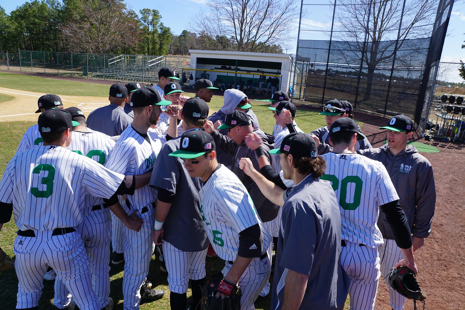 Vikings Baseball Splits Against National #2 Northampton CC