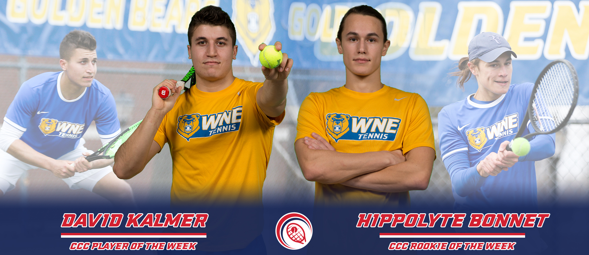 Western New England Sweeps CCC Weekly Tennis Awards