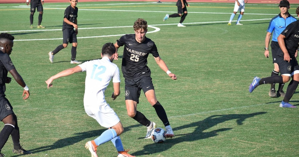 Carroll's Brace Bags Mariners 3-0 Victory Over Contra Costa