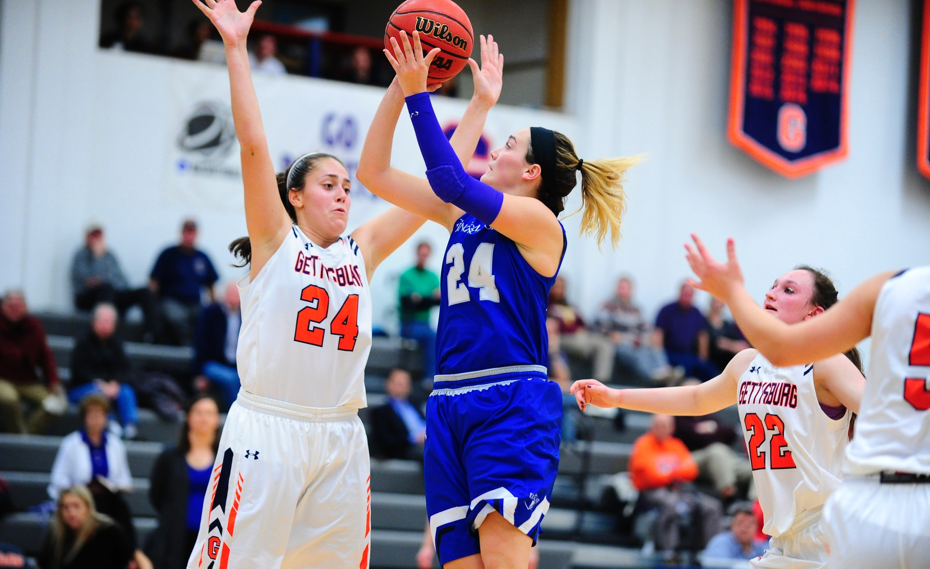 Gettysburg Uses Big Fourth Quarter to Beat F&M