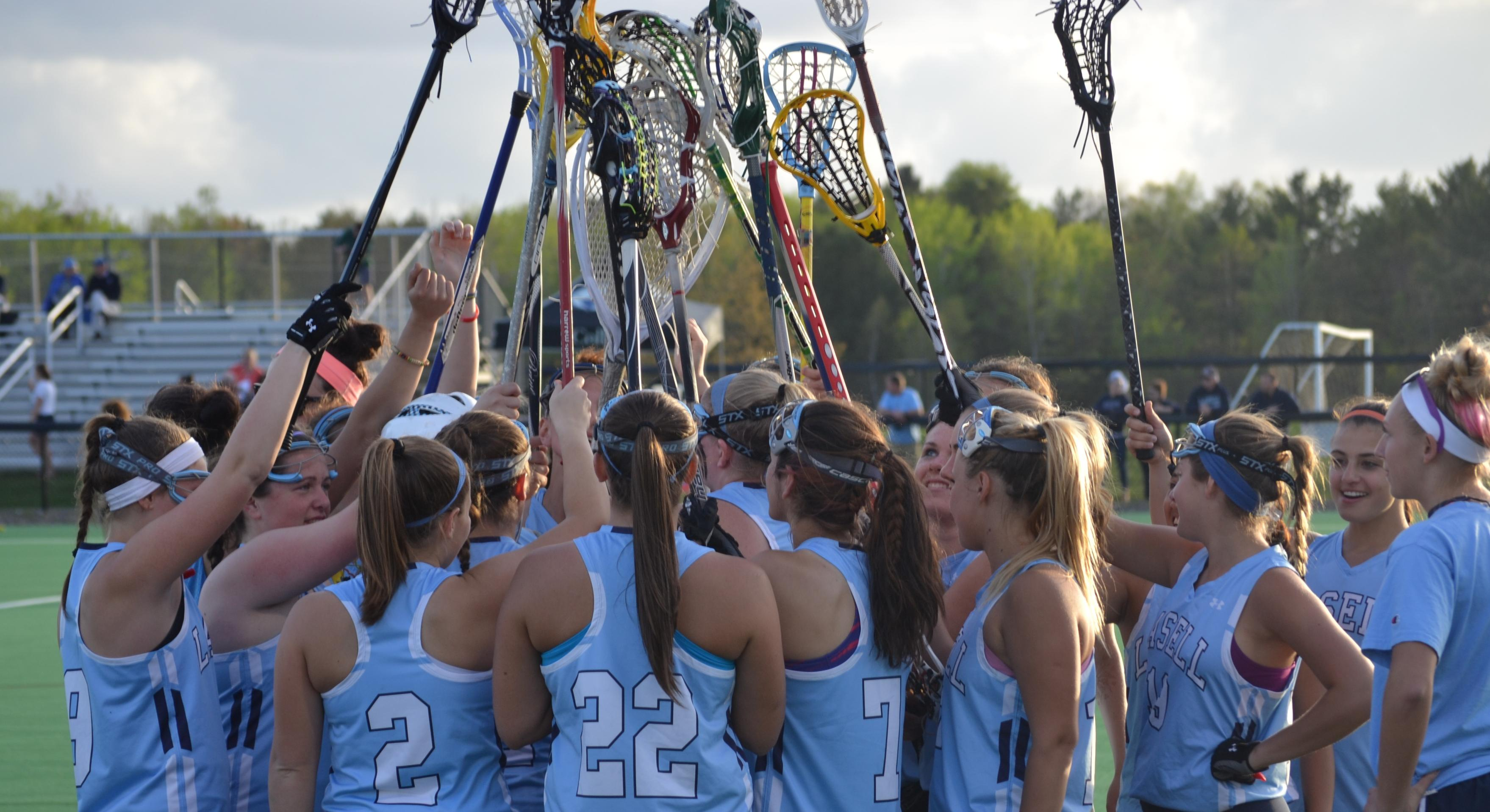 Colby Stops Lasell in Women's Lacrosse NCAA Action