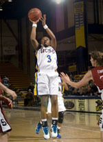 Gauchos Throttle Cal State Northridge 90-79 to Clinch Big West's Second Seed