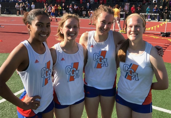 Beck, Piker, 4x400 Shine on Day Two of New England Championship