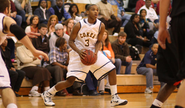 Morris Leads Coker to 67-59 Wn in Season Opener Against Francis Marion