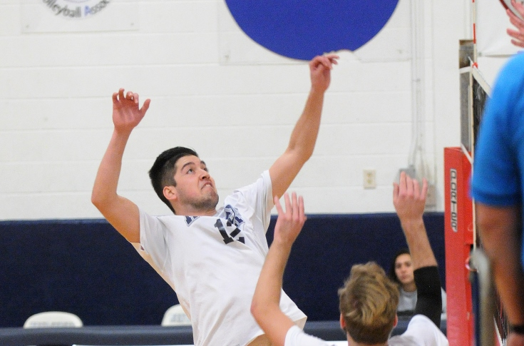 Men's Volleyball: Rivier powers past Emerson in straight sets