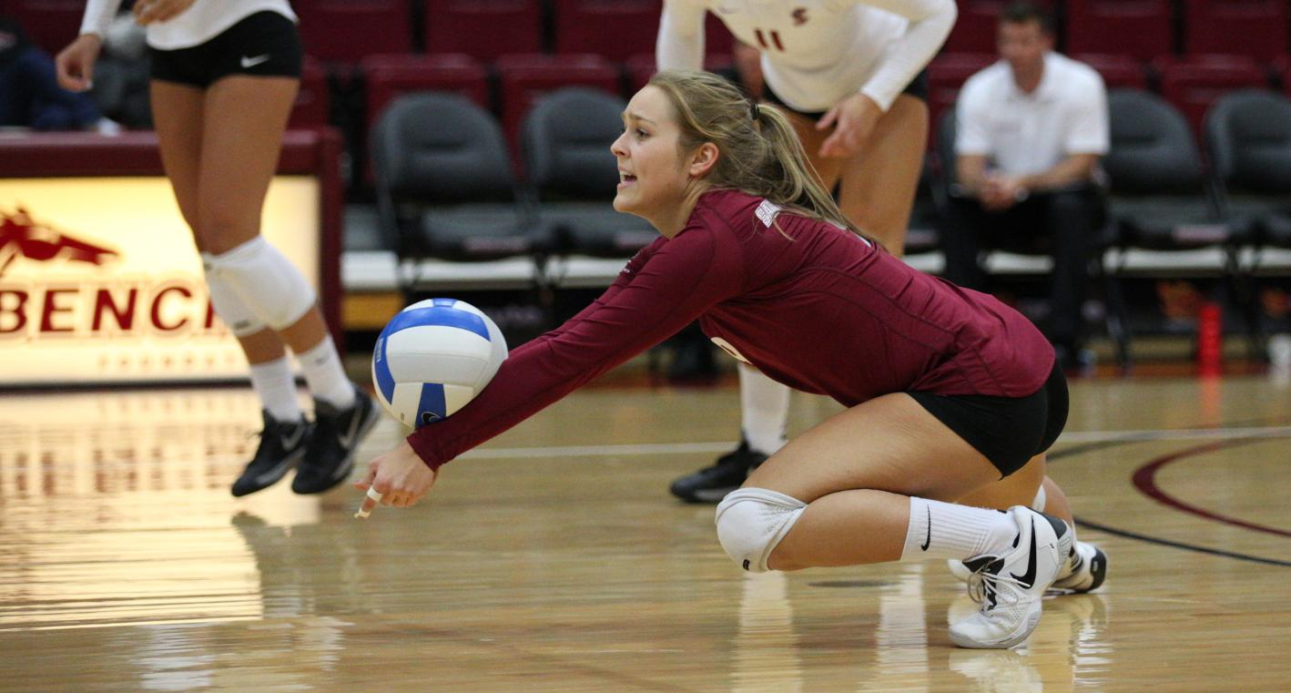 Mary Shepherd Kills Her First Season For Women's Volleyball