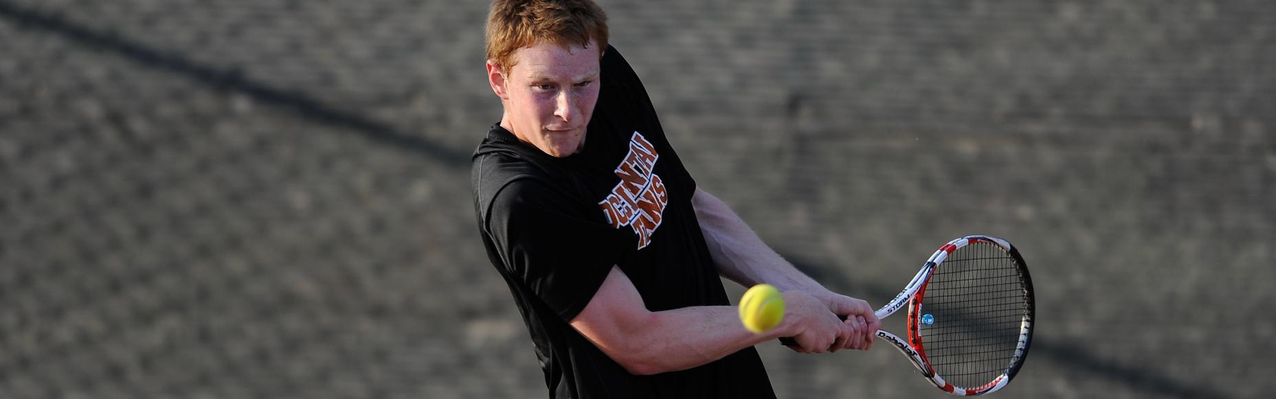 MEN'S TENNIS RETURNS FROM BREAK, DOESN'T MISS A BEAT IN 7-2 VICTORY OVER SALISBURY