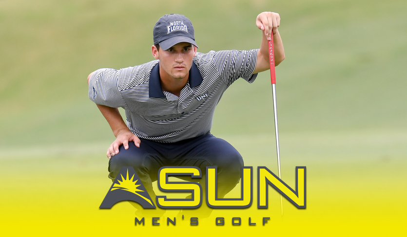 UNF's Knowles Secures 11th Career @ASUN_Golf Weekly Award