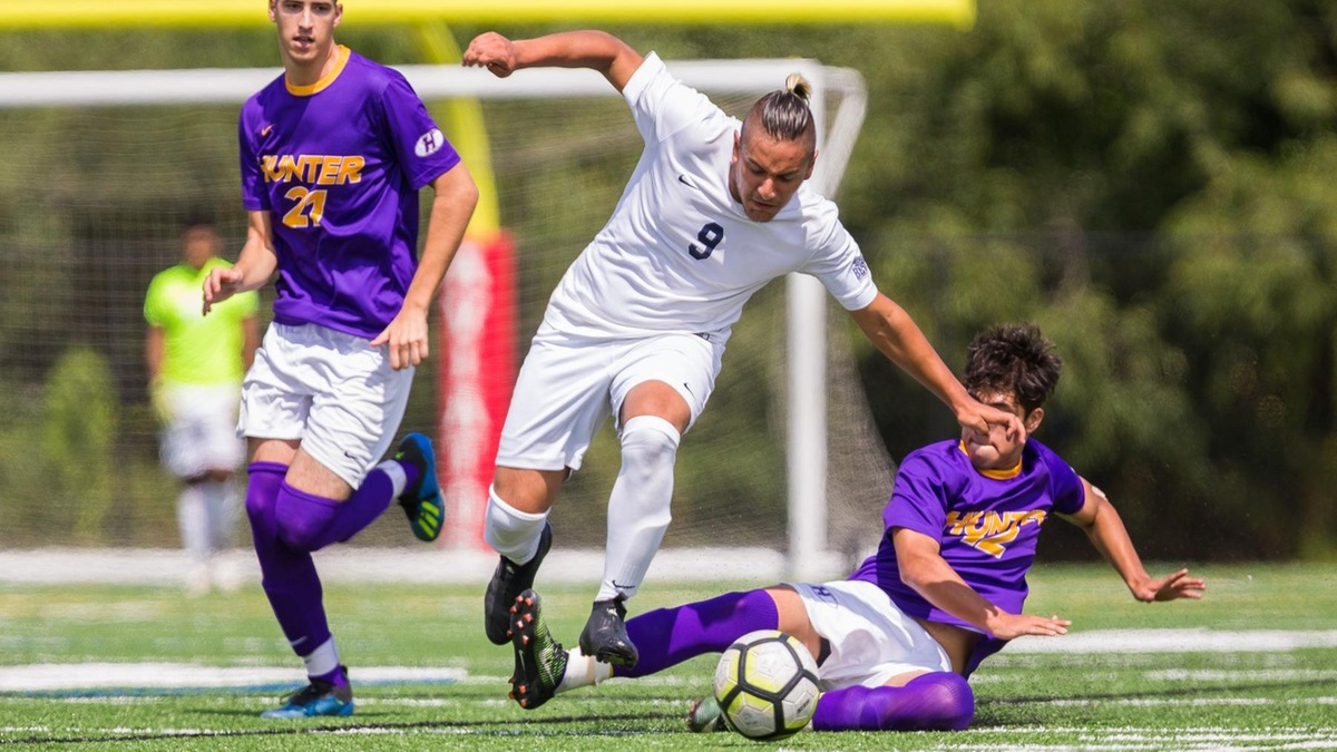Men's Soccer Stumbles in Second Half to New Jersey City