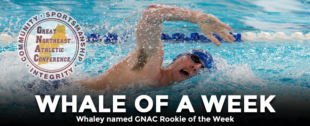 Whaley Named GNAC Rookie of the Week