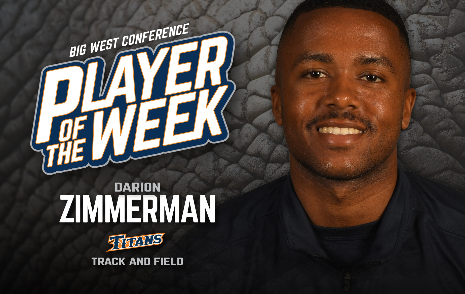 Zimmerman Voted Big West Track Athlete of the Week