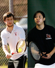 Harunaga, Allen First Team All-NWC