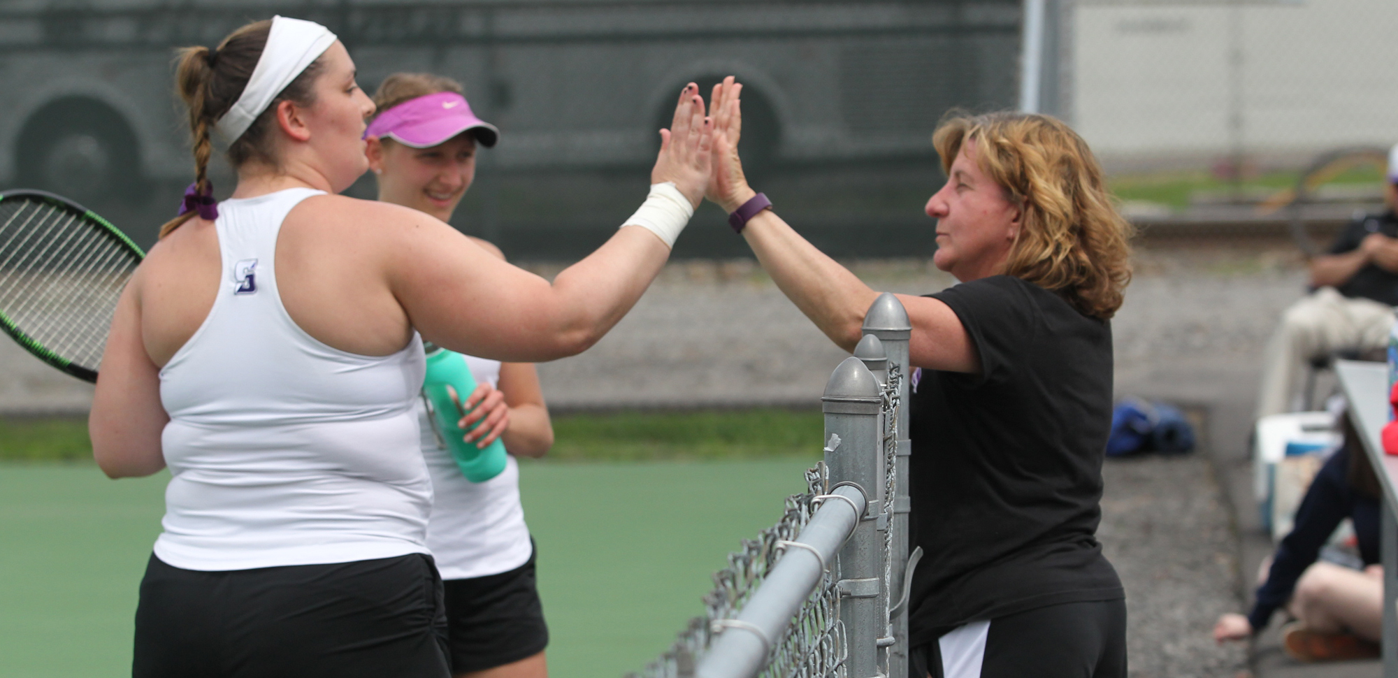 University of Scranton women's tennis head coach Janice Winslow was named the USTA Eastern Pennsylvania District College Coach of the Year recently and will receive the award at a banquet next month.