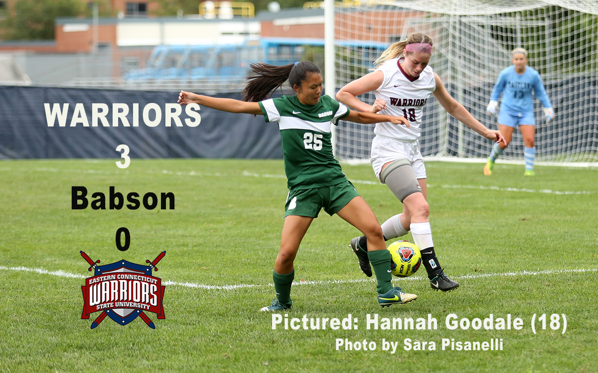 Women's Soccer: Three Goals in 11 Minutes Seals Non-Conference Win Over Babson