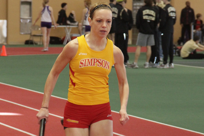 Simpson women take sixth at Grinnell