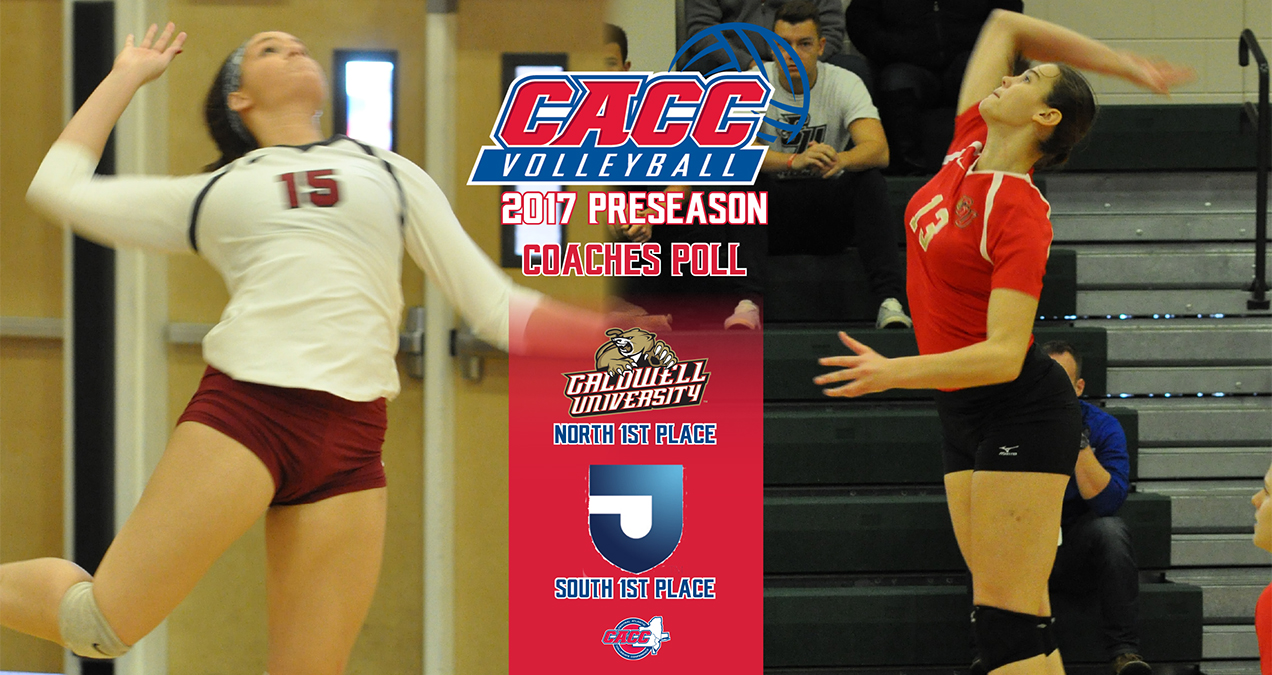Caldwell & Jefferson Top Their Respective Divisions in the 2017 CACC Volleyball Preseason Coaches Poll