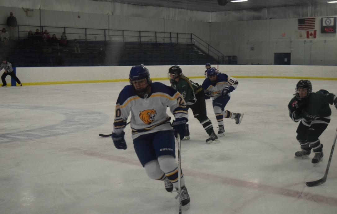 Johnson & Wales Women's Ice Hockey Falls 4-1 to Southern Maine in NEHC Opener