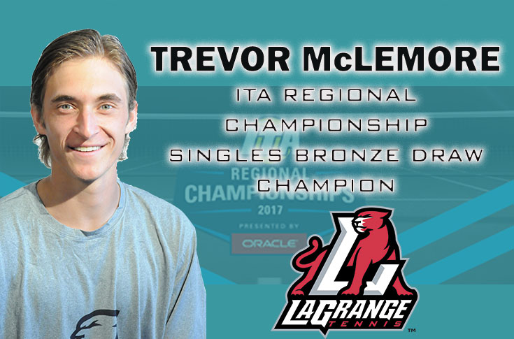 Men's Tennis: Trevor McLemore leads strong showing by Panthers at ITA Regional Championship