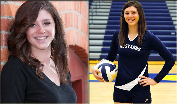 Bulldog Volleyball Adds Prep Hitter Elle Humphries