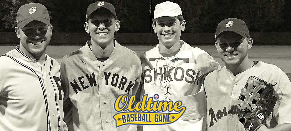 Four Gallaudet players appear in 22nd annual Oldtime Baseball Game