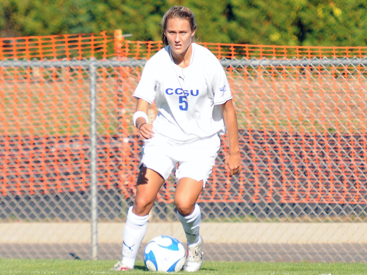 Rachel Caneen Scores Twice; Blue Devils Fall 3-2 in Double Overtime at Yale
