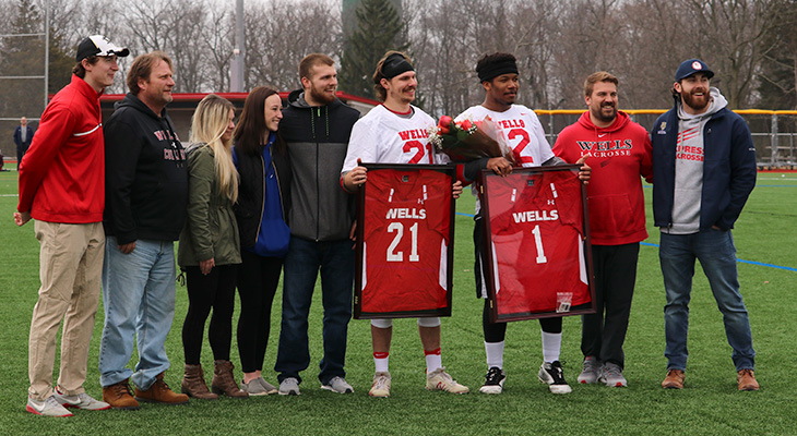 Wells Men's Lacrosse Honors Seniors, Falls To Morrisville