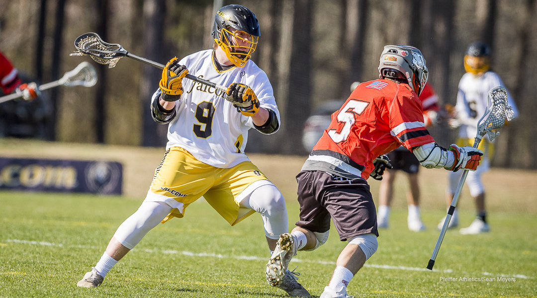 Big Third Quarter Lifts Guilford to 16-13 Win Over Pfeiffer Men's Lacrosse