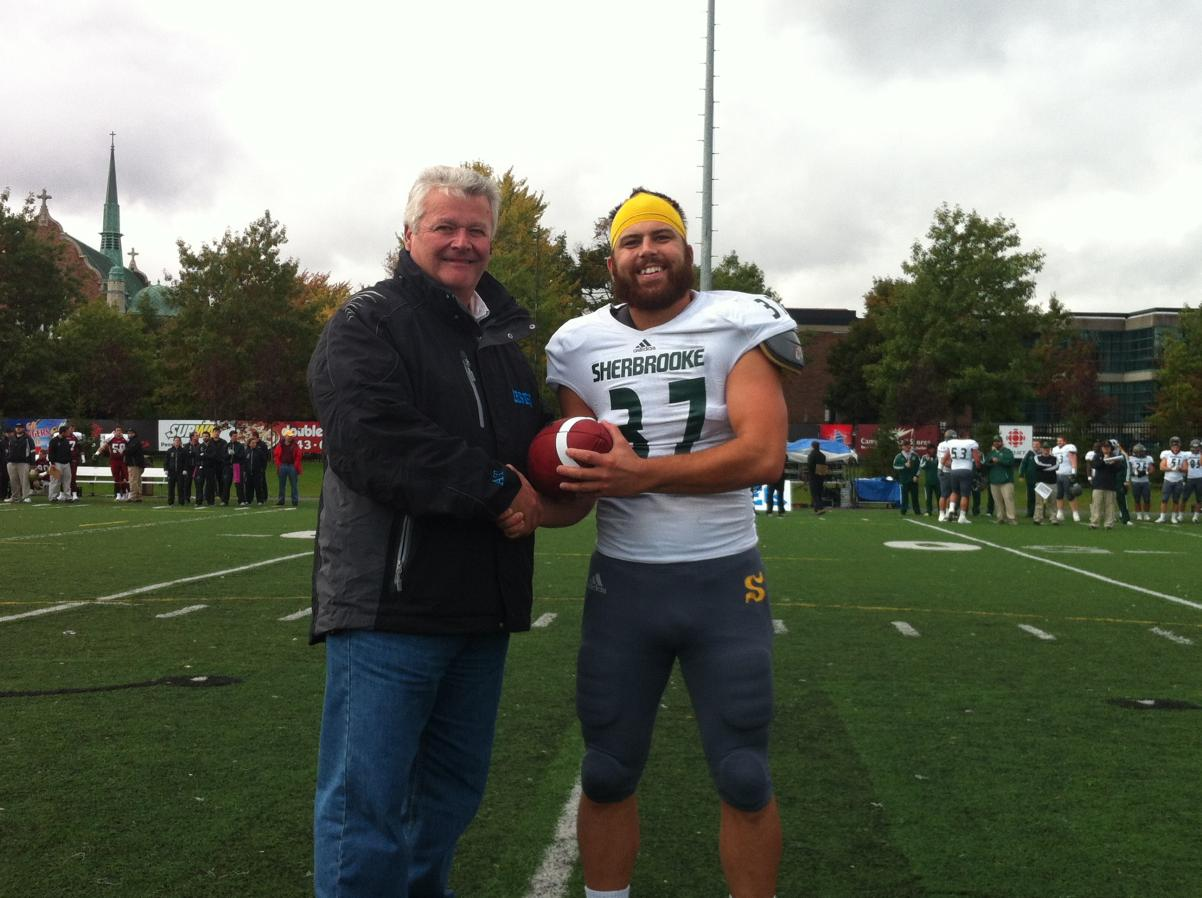 Sherbrooke's Dion sets CIS career field goal record