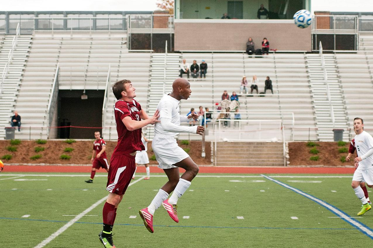 Niang Nets Hat Trick In Men's Soccer Setback
