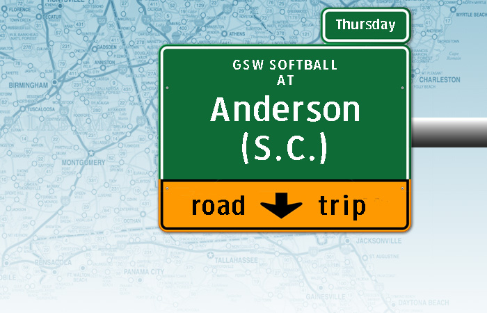 On the road: Softball Travels to Anderson, S.C.
