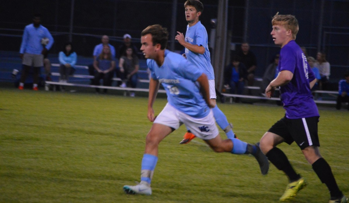 Westminster Men's Soccer Drops Conference Match to Webster