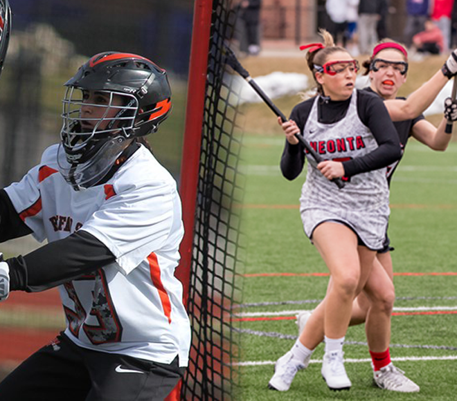 SUNYAC Announces Women's Lacrosse Athletes of the Week