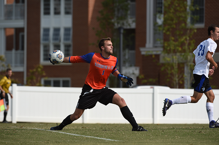Six Generals Garner Men's Soccer All-ODAC Honors
