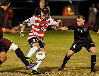 Frame selected SAC player of the week for men's soccer