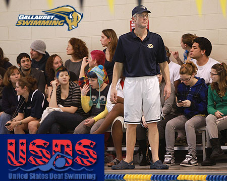 Gallaudet's Bill Snape named United States Deaf Swimming Head Coach