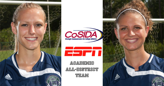Georgia College Soccer's Binkowski and Treat Named To 2010 CoSIDA/ESPN Academic All-District Team