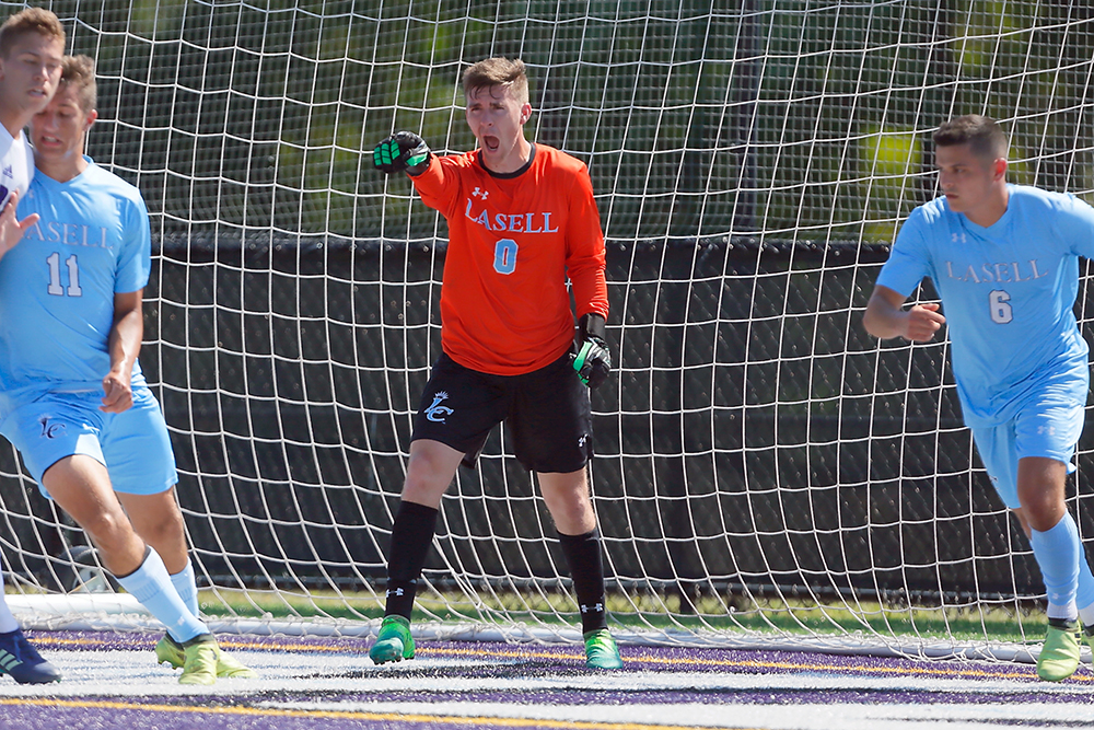 Lasell Men's Soccer blanked by Colby-Sawyer